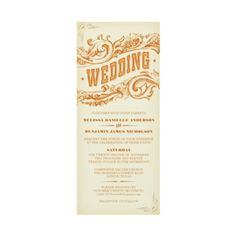 Western invitation