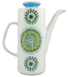 J&G Meakin Studio 1965 Aztec Coffee Pot