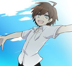 Naegi is too much. Too much of that sweetness. Our cute naegyo. Makoto Naegi, Danganronpa Trigger Happy Havoc, Danganronpa 1, Character Drawing, Fan Art, Drawings, Cute, Anime, Pictures