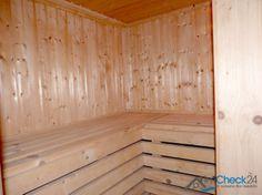 Sauna im Keller des Hauses.