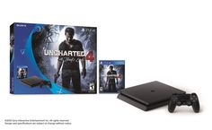 "Sony PlayStation 4 Slim 500GB Uncharted 4 Console Bundle ""NEW/SEALED"" Brand New Factory Sealed With Warranty - Thumbnail 1"