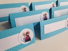 Frozen Birthday Party Food Labels Buffet tents by AlishaKayDesigns, $8.00