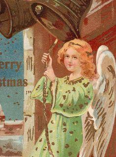 Beautiful Antique Italian Made Christmas Angel by VintagenutsInc, $4.50