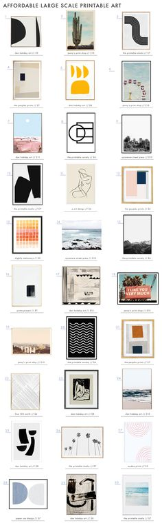 A roundup of our favorite EHD approved printable art