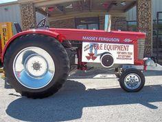 massey garden tractor pullers | 1958 Massey Ferguson 98 | Flickr - Photo Sharing!