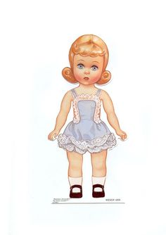 The Wendy Ann Series Paper Doll From The Madame Alexander Collection by Peck Aubry