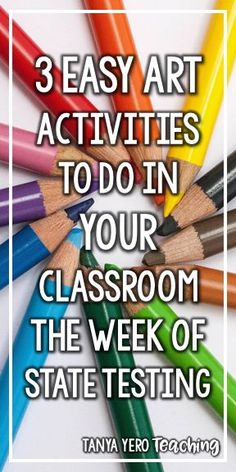 Find three easy art activities for your class to do during the week of state testing. Let your students take a break from the stress with these engaging and relaxing activities. They are great for upper elementary. Lower elementary students can participate, but will need a lot of direction and assistance. Utilize symmetry and reflection, direction following, and listening skills while having fun at the same time. You can even find some holiday themed activities.