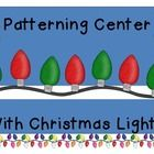 extend and create patterns with this great center.172  Center cards and lights to use, as well as printables for students to color and create their...