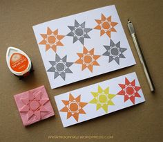 islamic art geometric arabic stamp carving block - ختم نقوش اسلامية Stamp Carving, Islamic Art, Cards, Maps, Playing Cards