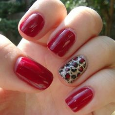 Rojo + animal print