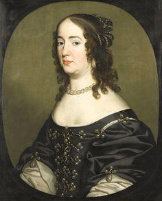 1647 Amalia van Solms by Gerrit van Honthorst (Rijksmuseum - Amsterdam Holland)