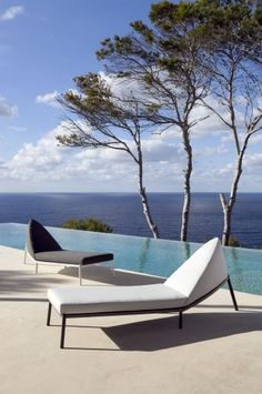Sun loungers by POINT