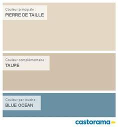 Castorama Nuancier Peinture - Mon harmonie Peinture PIERRE DE TAILLE mat de COLOURS Collection