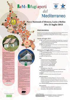 20 e 21 luglio: #Parco nazionale d' #Abruzzo, #Lazio e #Molise #Rifugi aperti