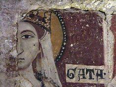 South Italy, Basilicata, Matera, Chiesa di Santa Lucia Alle Malve Catania, Santa Lucia, View Image, Cool Photos, Van, Icons, Painting, Saints, Symbols