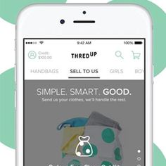 Best Selling Apps - threadUP Selling Apps, Selling Online, Sell Your Stuff, Amazon Seller, Selling Furniture, Old Things, Things To Sell, Extra Money, How To Take Photos