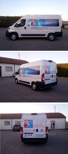 Decorazione su Fiat Ducato realizzata tramite l'applicazione di stampa digitale e scritte in pvc adesivo prespaziato. La progettazione grafica, la stampa e l'installazione delle pellicole sui mezzi viene totalmente realizzata dal nostro studio. Van, Studio, Studios, Vans, Vans Outfit