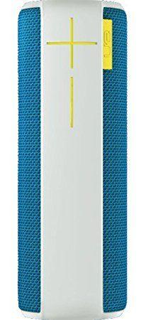 UE Boom tragbarer Bluetooth Lautsprecher (360° Sound, spritzwassergeschützt, 15 Meter kabellose Reichweite) blau: Amazon.de: Audio & HiFi