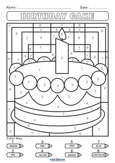 Activity Pages For Kids Free Printables, Free Printable Coloring Pages, Free Coloring Pages, Coloring Books, Kindergarten Colors, Preschool Colors, Kindergarten Worksheets, Kindergarten Reading, Coloring Sheets For Kids