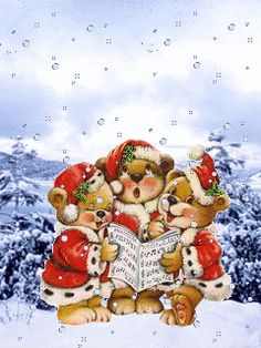 Browse pictures, photos, images, GIFs, and videos on Photobucket Christmas Scenes, Christmas Animals, Christmas Music, Christmas Love, Christmas Wishes, Christmas Pictures, Winter Christmas, Merry Christmas, Vintage Christmas Images