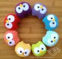 ! Baby Owls Ornaments Crochet Pattern