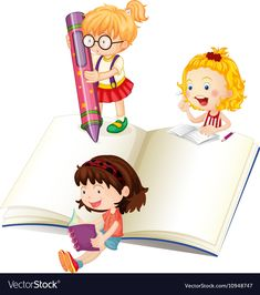 Our curriculum is our backbone and ours # education is par excellence. Our The model has been well researched and developed by professionals with over 20 years of global experience in the US Domain. Cartoon Images, Cartoon Kids, Kids Writing, Writing A Book, Writing Clipart, Writing Pictures, School Murals, School Clipart, Kids Vector