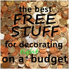 How to Decorate on a Tight Budget   Budgeting, Decorating and Create