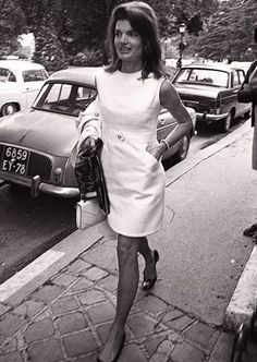 Jackie O. I want her wardrobe. Classic & timeless!