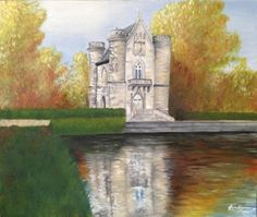 Chateau oil painting - Creative Art in Painting by Halinka Christina in Portfolio My Projects at Touchtalent