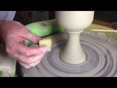 Throwing Goblets - Scott Reed of Symmetrical Pottery