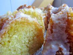 Mijn mixed kitchen: Zachte citroencake met crème fraîche