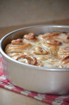 """Delicious"" AMISH CINNAMON ROLLS  ~~~  Not Pillsbury dough.  This will melt in your mouth!"
