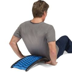 A uniquely designed stretching aid design to help relieve back pain