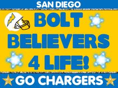 San Diego Chargers CHARGE~! You Know it Baby!~ ~*~moonmistgirl~*~