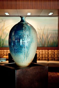 Saw this Ben Owen III - Waterfall Bottle at The Umstead on Friday March 22. Can't wait to go back and stare at it some more!