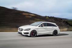 CLA 45 #AMG Shooting Brake nuova Mercedes ad alte prestazioni