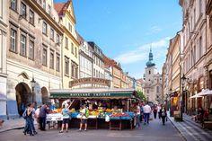Prag - Straßenmärkte - Prag