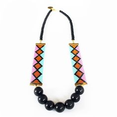 Miami Nights Necklace (Pink)