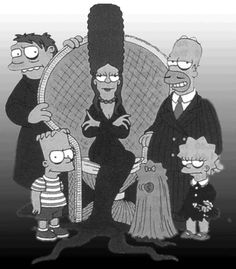 Simpsons, Halloween-style.