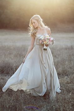 champagne wedding dress - jennifer ebert photography