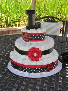 """Photo 1 of 20: Lady bugs / Baby Shower/Sip & See """"Baby Shower for Sara and Lexi"""" 