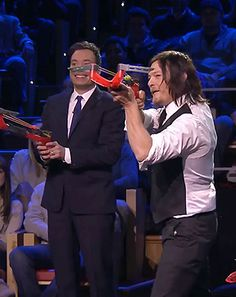 having too much fun on the Tonight Show with Jimmy Fallon