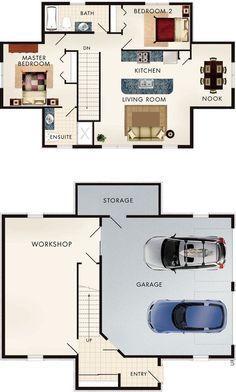apartment floor plans Cotswold I Floor Plan Garage Garage In 2019 Garage House Plans Plan Garage, Garage Floor Plans, House Floor Plans, Garage Ideas, Garage Art, Garage Doors, The Plan, How To Plan, Garage Apartment Plans