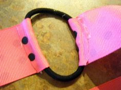 stretchy way to make a headband fit better
