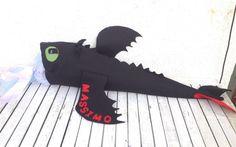 Schultüten - DIY Schultüte Bastelset Ohnezahn verschiedene Gr. - ein Designerstück von SibDeSign bei DaWanda