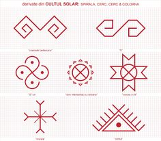 Semne Cusute: CU ROST si FARA ROST Folk Embroidery, Embroidery Patterns, Cross Stitch Patterns, Floral Embroidery, Old Symbols, Ancient Symbols, Doodle Sketch, Symbolic Tattoos, Traditional Art