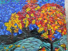 Autumn , a mosaic by kat gottke