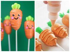 Cakepops de cenoura para a Páscoa