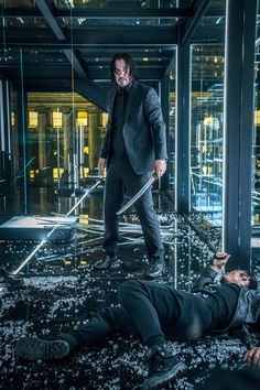 """After A 'Wick'-ed Day, How Did Keanu Reeves De-John Himself? After a long, hard day on the set on John Wick: Chapter 3 — Parabellum,"""" how would Keanu Reeves de-Wick himself? Dc Movies, Movies 2019, Action Movies, Movie Tv, Blockbuster Movies, Cult Movies, Baba Yaga, John Wick Hd, John Wick Movie"""