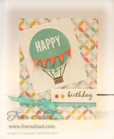 Balloon Bash by fsabad - Cards and Paper Crafts at Splitcoaststampers